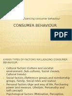 consumerbehaviour- 4majorfactors