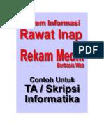 Desain ERD Dan Analisi Sistem Informasi Rekam Medik Rawat Inap Pada Rumah Sakit