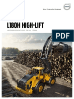 Broszura nt. produktu Volvo L180H HL