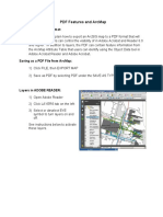 PDF Features and ArcMap