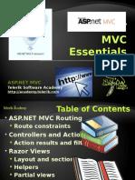 ASP.net Mvc Essentials