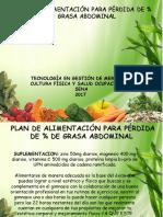 Plan de Alimentación y Rutina de Ejercicios