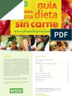 Guía para una Dieta Sin Carne