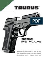 Novo Manual TAURUS Das Pistolas Metálicas Taurus