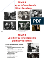 T.2 La Radio y Su Influencia en La Politica y La Cultura
