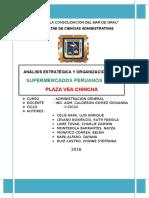 Monografía de Supermercados Peruanos