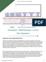 Aeronautics - Fluid Dynamics - Level 3 (Flow Equations).pdf
