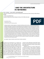 Nuismer Et Al 2013 Evolution Coevolution Mutualistic Network