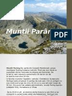 Munții Parâng