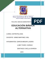 Educación Básica Alternativa
