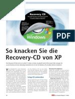 So.knacken.sie.Die.recovery CD.von.Xp