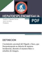 Hepatoesplenomegalia-Pediatria
