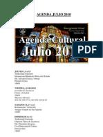 Agenda Cultural de Zacatecas Julio 2010