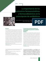 Farmacocinetica y Farmacodinamica de Antibioticos