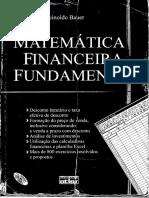 Matemática Financeira Fundamental - Bauer