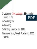 English Program