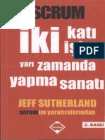 Jeff Sutherland - Scrum - İki katı İşi Yarı Zamanda Yapma Sanatı.pdf