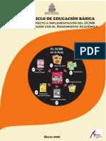 El 3er Ciclo de Educacion Basica Linea Base Respecto a Implementacion Del DCNB Y Factores Asociados Con El Rendimiento Academico-TECNICO