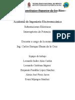 Subestaciones Electricas -Interruptores de Potencia