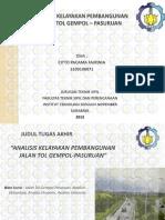 ITS Paper 33222 3109100071 Presentation