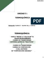 UNIDAD 5 Termoquimica 2014