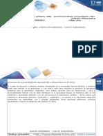 Guía de Actividades y Rúbria de Evaluación Fase 0 Exploratorio