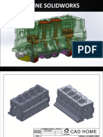Planos Engine Solidworks