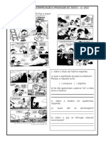 ATIVIDADES de interpretação e produção de texto - 4º ano.doc