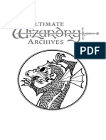The Ultimate Wizardry Archives Manual