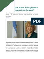 La Educación Es Uno de Los Primeros Rubros de Comercio en El Mundo (Entrevista a Adriana Puiggrós)