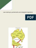 law making and delegated legislation