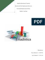 Estadística Probabilística