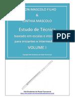 Estudo de Técnica Volume 1 - Mascolo - PDF Grátis - Estudantes de Flauta