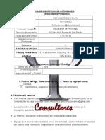 Ficha de Inscripción PRO IDEMAR