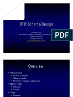 XML 8 DTD SchemaDesign