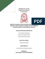 Diagnóstico Situacional Del Sector Artesanal Desde Una Perspectiva de Género en El Marco Del Desa