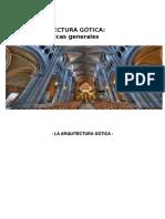ARQT GOTICA ESTRCTURAS