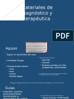 Materiales de Diagnostico y Terapéutica