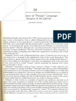 """Andrew Rippin , """"The designation of Foreign Languages in theExegesis of the Qur'an"""""""