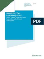Forrester - Unlock the Full Value of IoT