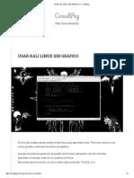 Usar Kali Linux Sin Gráfico