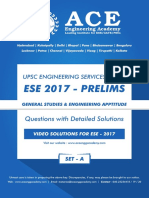 ESE17 GS SET a Questions With Solutions