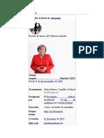 Canciller de Alemania