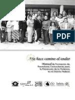 Manual Promotoras Comunitarias