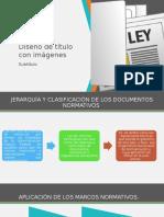 jerarquia de los documentos normativos