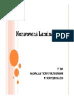 Nonwovens Lamination
