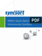 DMX-h Quick Start for Hortonworks Sandbox