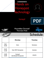 Honeypot Handson