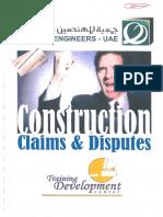Construction Claims & Disputes