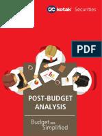 Post Budget Analysis 2015